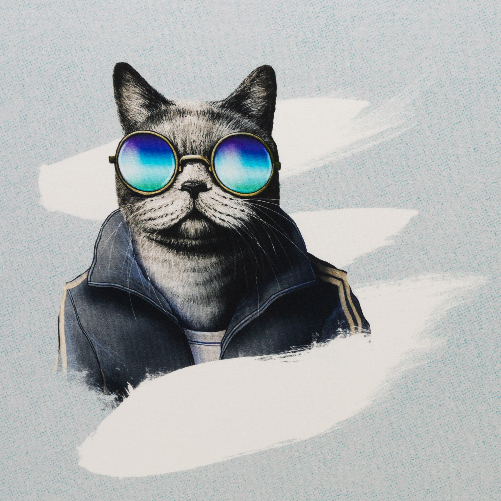 Sporty Cat by Thorsten Berger - Panel