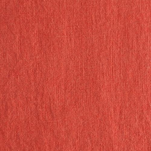 Leinen - Bio washed - terracotta