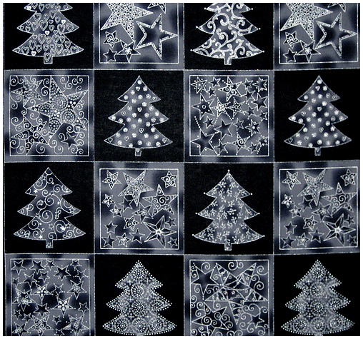 Enjoy Christmas - Patches - black-silver