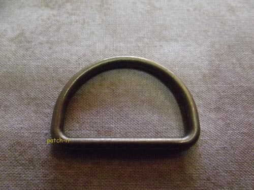 D-Ring - altmessing 40mm