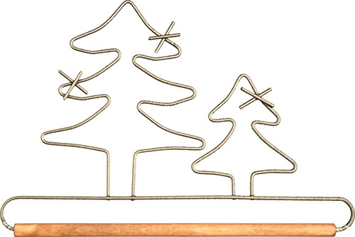 Evergreen Tree - Dowel Fabric Holder