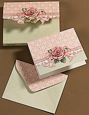 Carol Wilson Fine Arts - Gingham Rose Mini