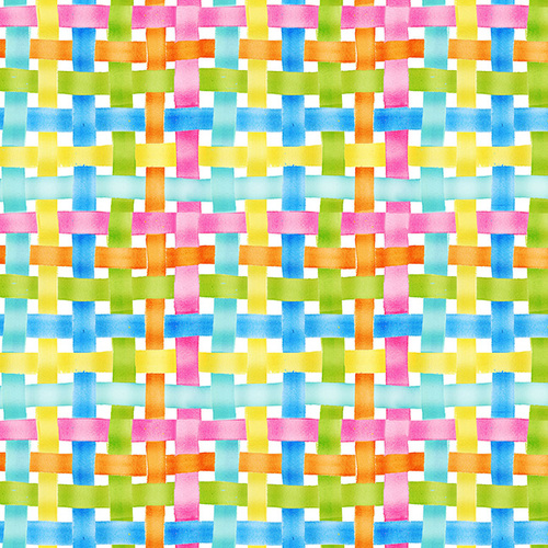 Easter Parade - Woven Plaid - multi