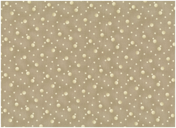 Quilters Basic Spezial - Dots - creme