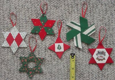 Star Ornaments - Paper Pieces