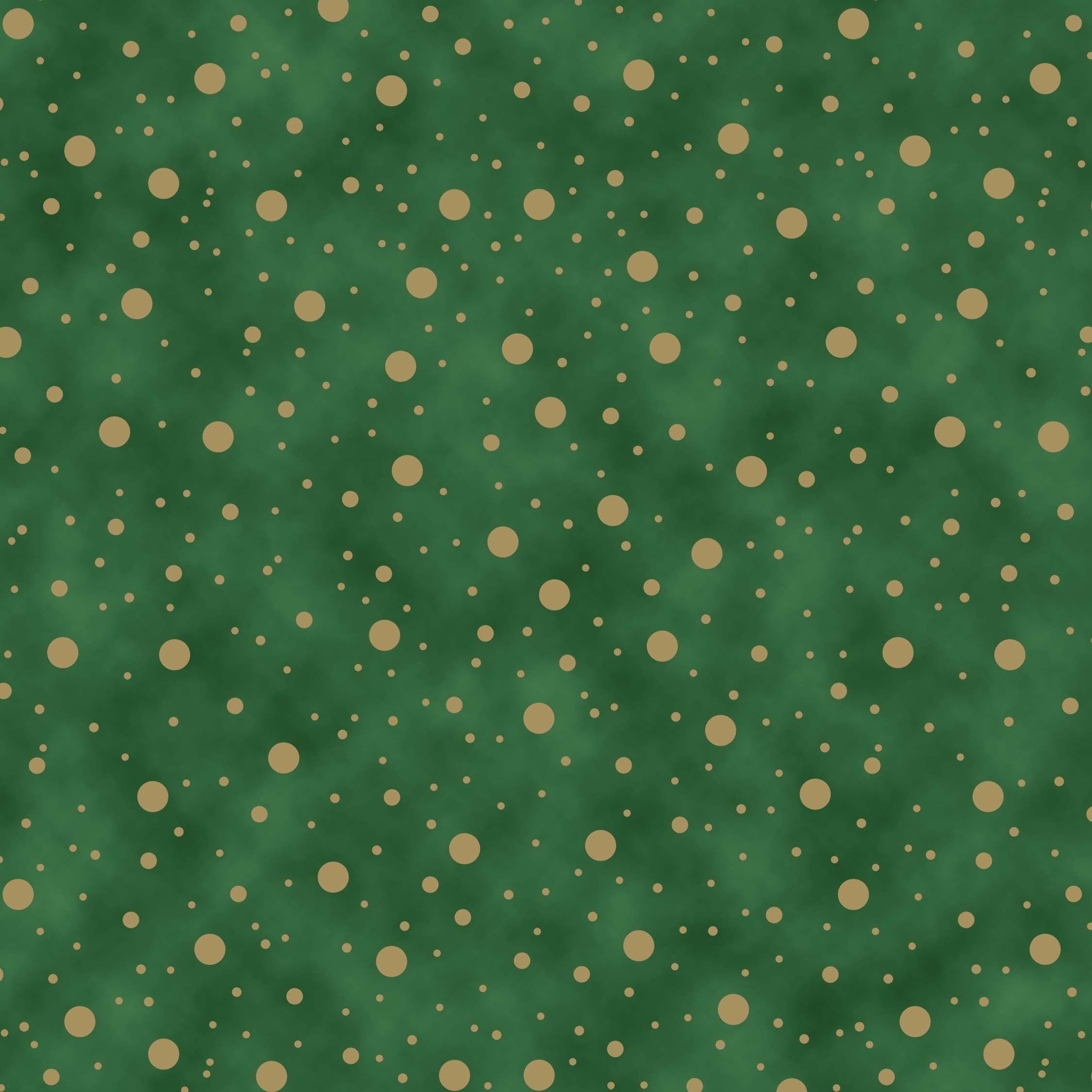 Elegant Christmas metallic - Dot - green