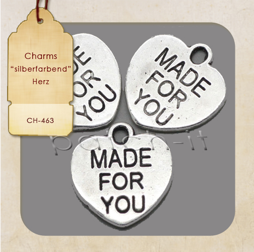 "Charms ""Made for You"" Herz"