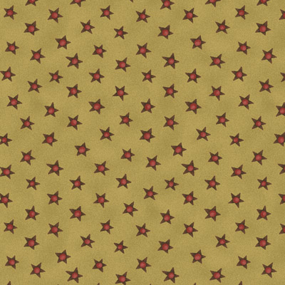 12 Days of Christmas by Hatched & Patched - Large Stars - green