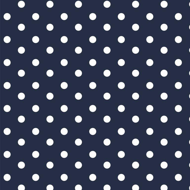 Dots - blue-white
