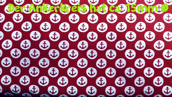 Anchor Dots - red-white