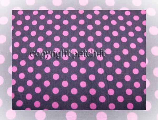 Dots 6mm - grey-pink