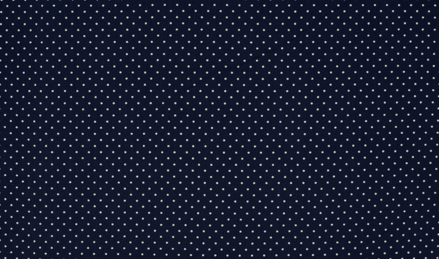 Tiny Dots - navy-white
