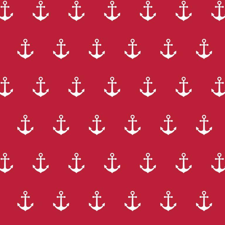 Anchor - red-white - Print