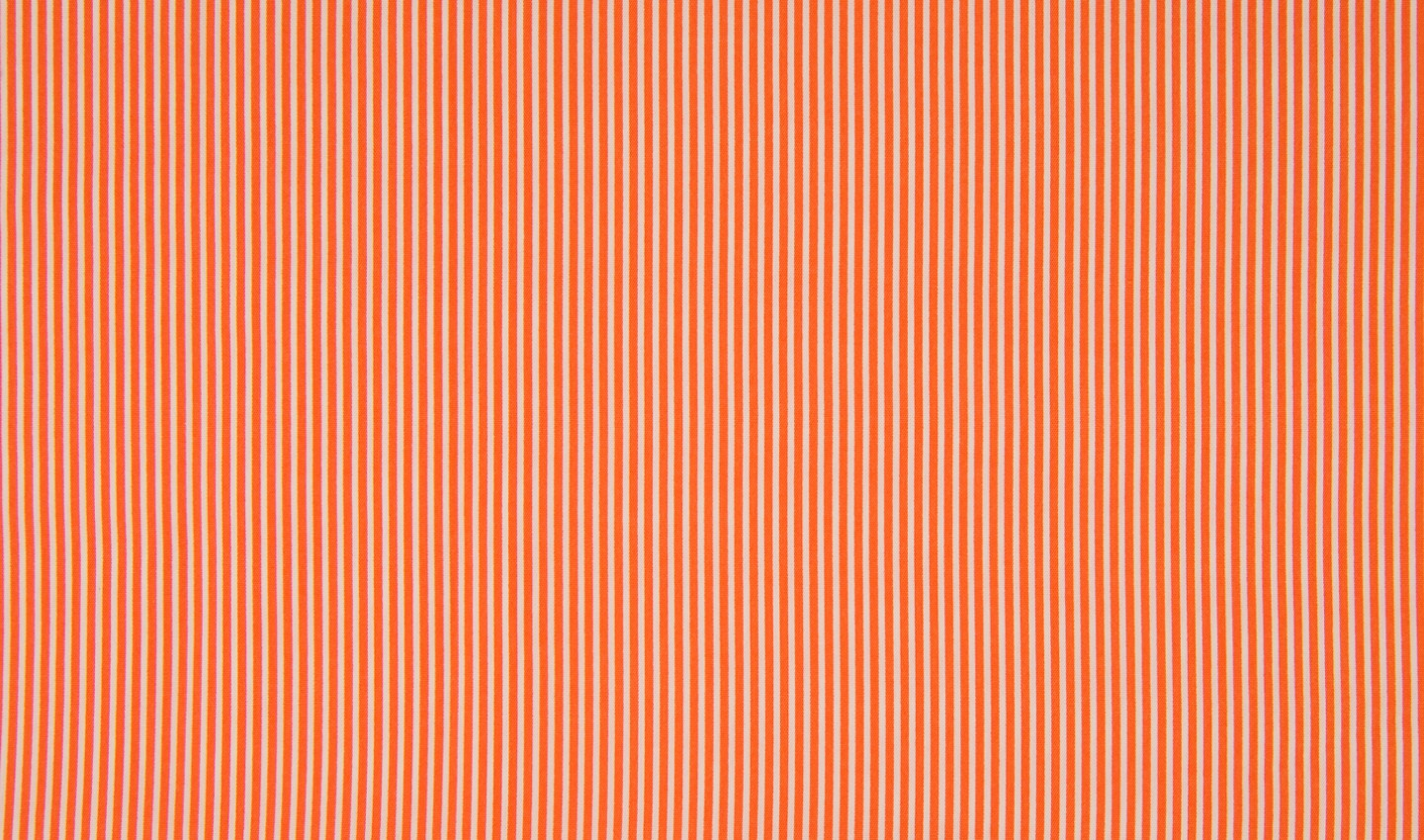 Minimals Stripes - orange-weiss - Baumwollprint