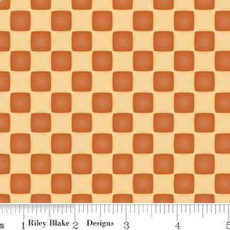 Country Harvest - Checkers - orange
