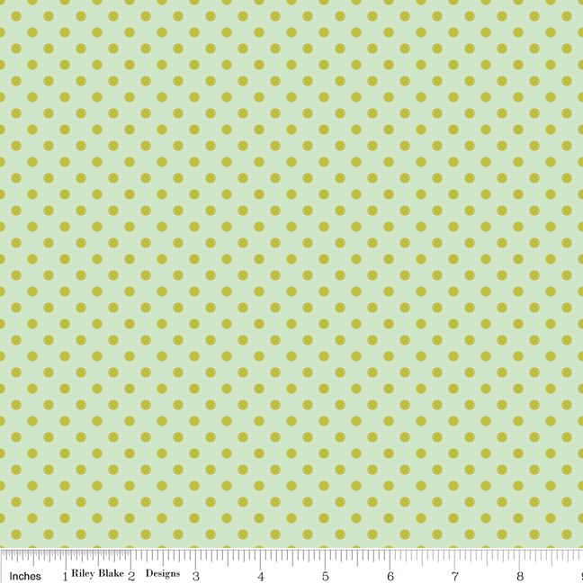 Farm Fresh - Polkadots - teal