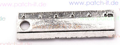 Charms - Lineal - Farbe: silber