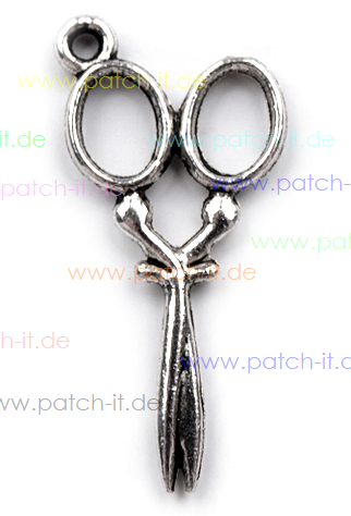 Charms - Schere - nickel