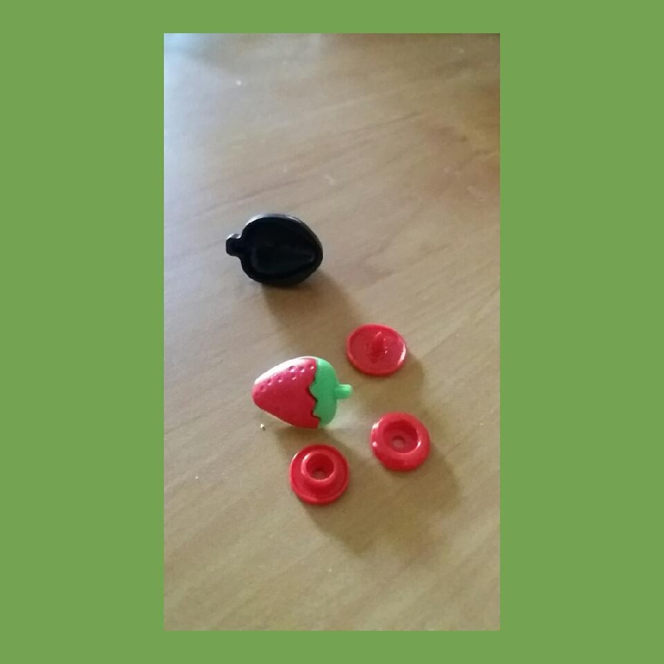 snap druckfix erdbeere inkl werkzeug erdbeere snap. Black Bedroom Furniture Sets. Home Design Ideas