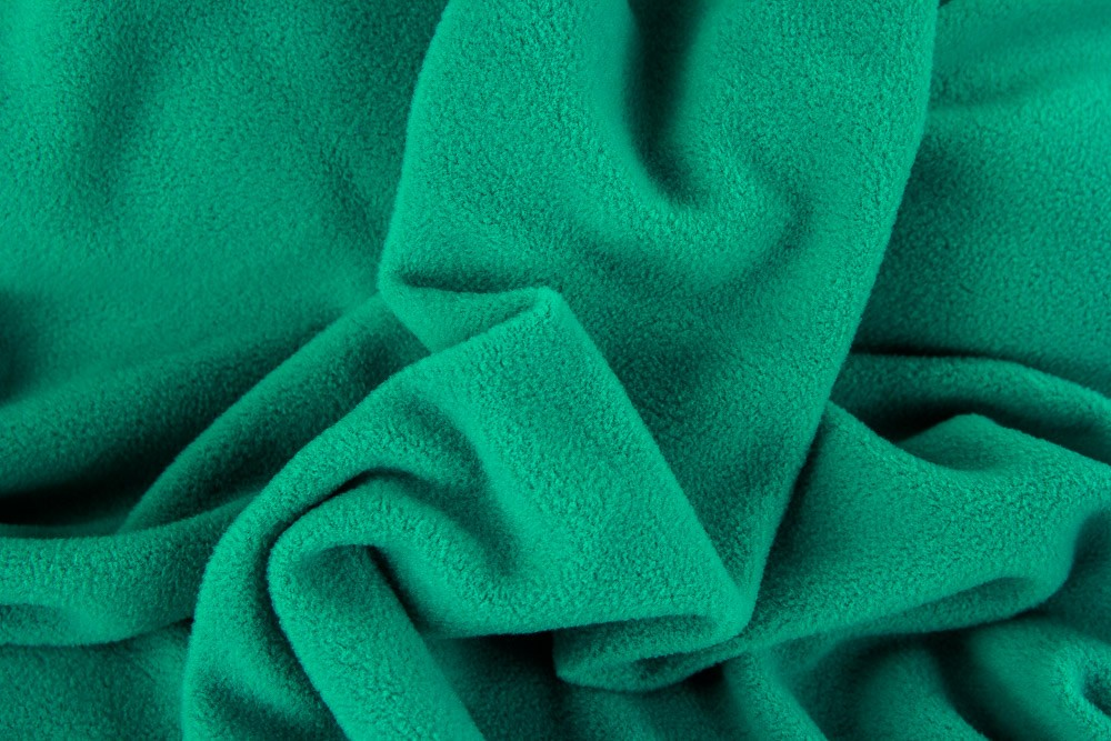 Fleece - Wellnessfleece - mint dunkel