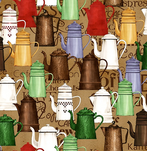 Daily Grind - Coffee Pots brown
