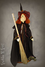 Matilda - Witch - Doll Pattern