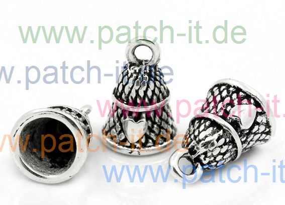 "Charms "" Fingerhut"" silberfarbend"