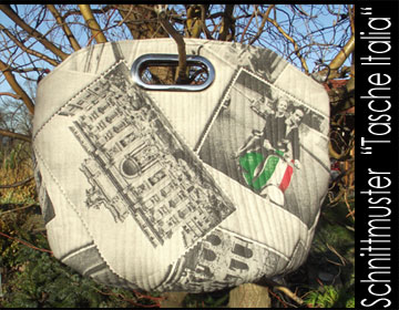 """Italia"" Tasche inkl. Griffe - Anleitung"