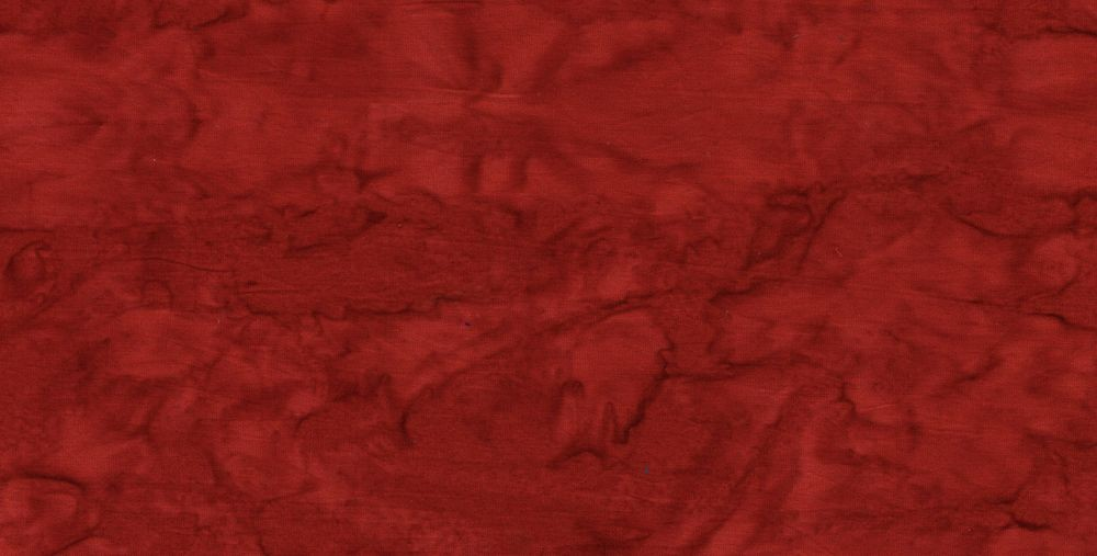 Batik Cotton Fabrics - Dark Darks - warmred