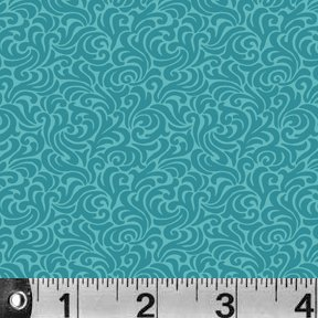 Bear Essentials 2 - Swirls - turquoise
