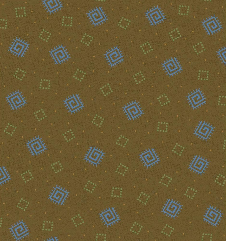 Briarcliff - Mini Squares - brown