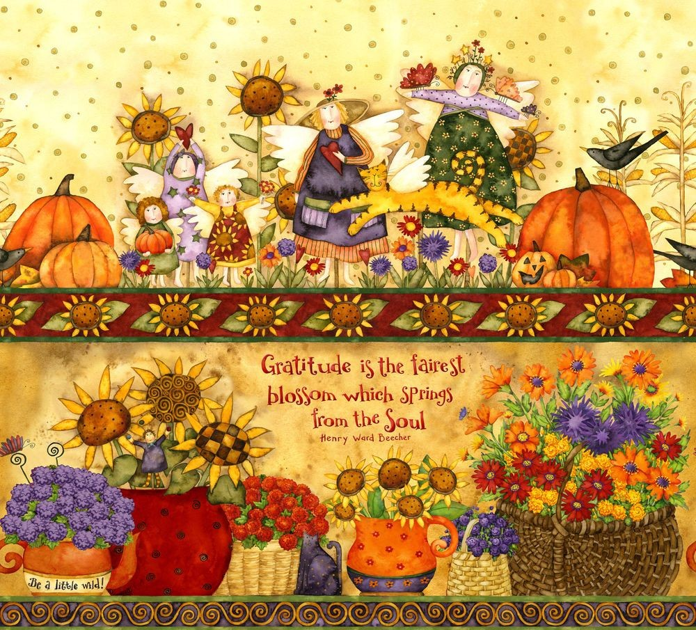 Harvest Angels - Shelf - Border
