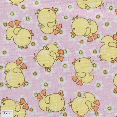 Baby Talk - Ducks - pink