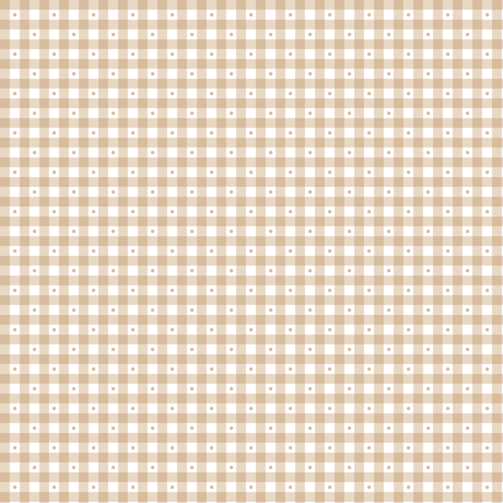 Sorbets - Gingham - light taupe