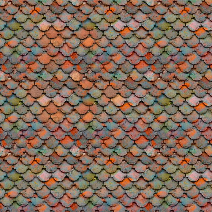 Croatia - Villa Roof - orange