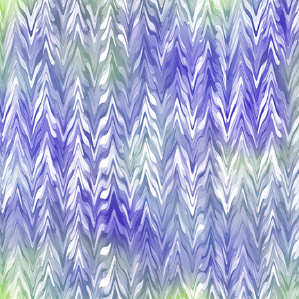 Belle - Watercolor Chevron - purple/periwinkle