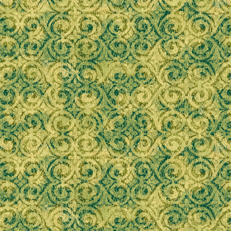 Danielle - Tonal Scroll - green