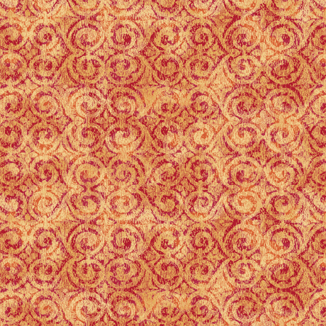 Danielle - Tonal Scroll - orange