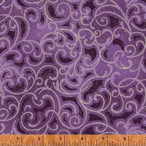 Grand Illusion - Scroll - purple