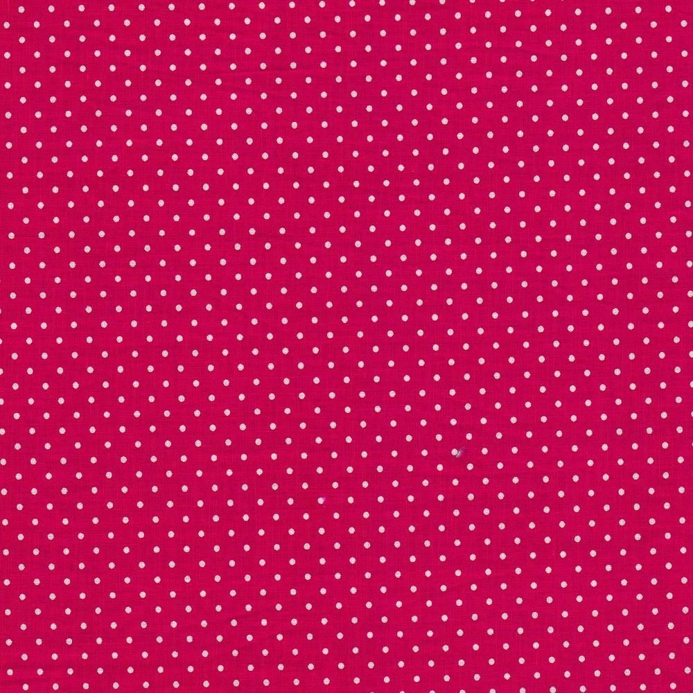 Dots 2mm - pink-white