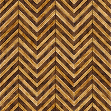 Craftsman - Chevron - brown