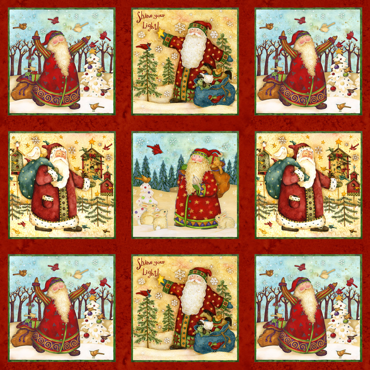 Santa´s Journey - Patches - multi