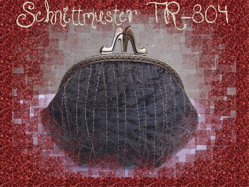 Schnittmuster Pumps TR-804 - SM TR-804 - Taschenbügel - Purseframes ...