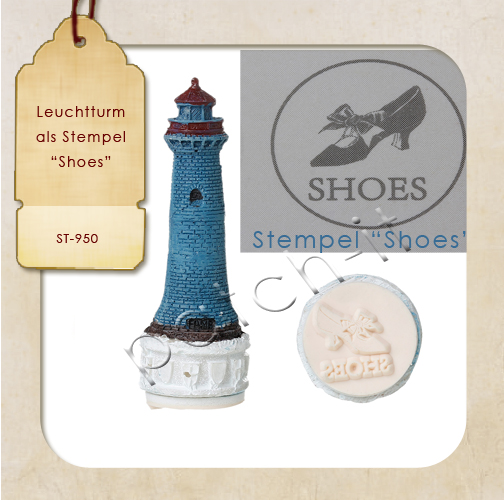 "Leuchtturm Stempel Pumps  ""Shoes"""