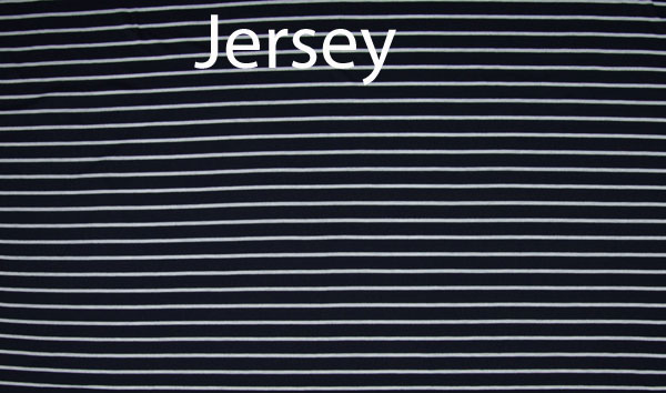 Jersey - Stripes - navy
