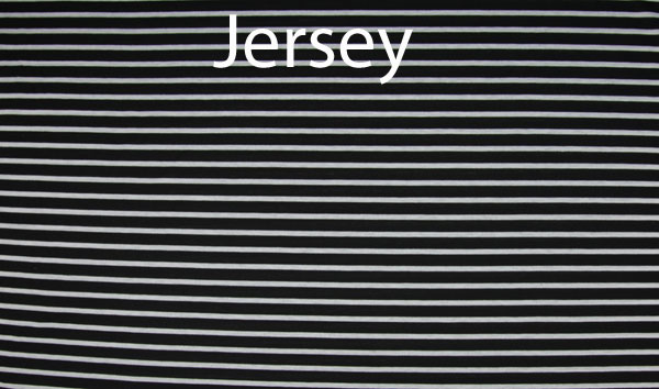 Jersey - Stripes - black