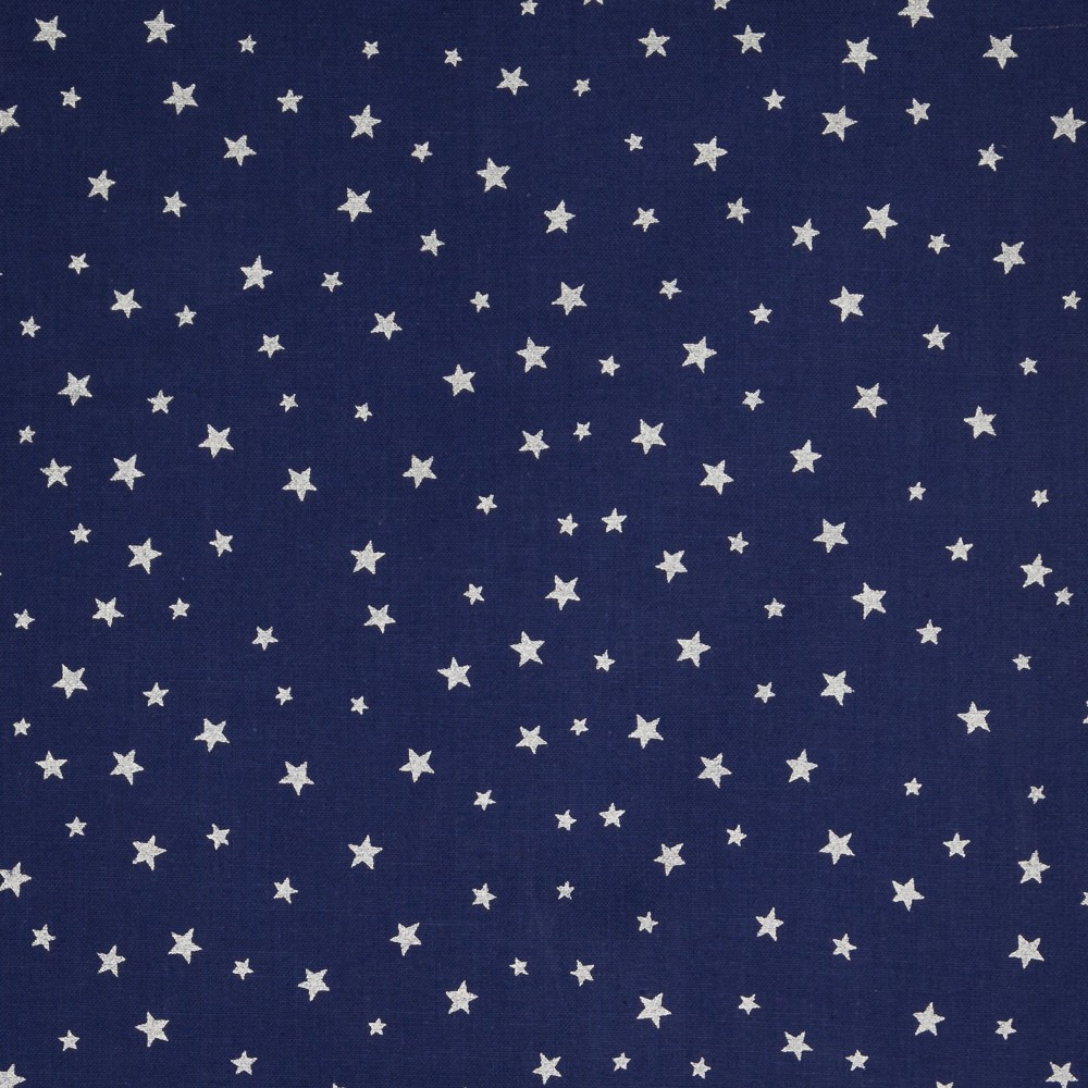 Stars with silver - darkblue