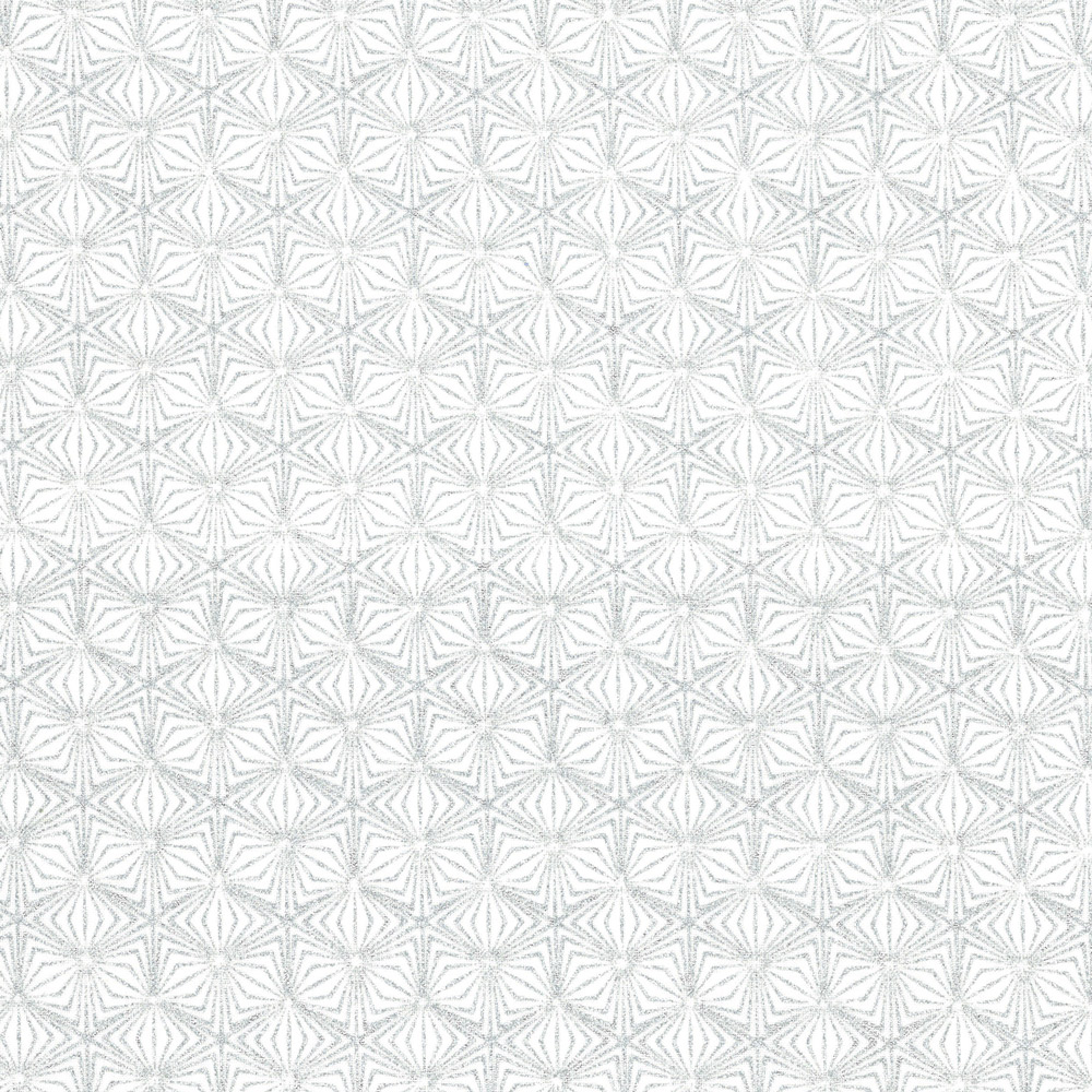 Christmas Wonders - Geometric - white-silver