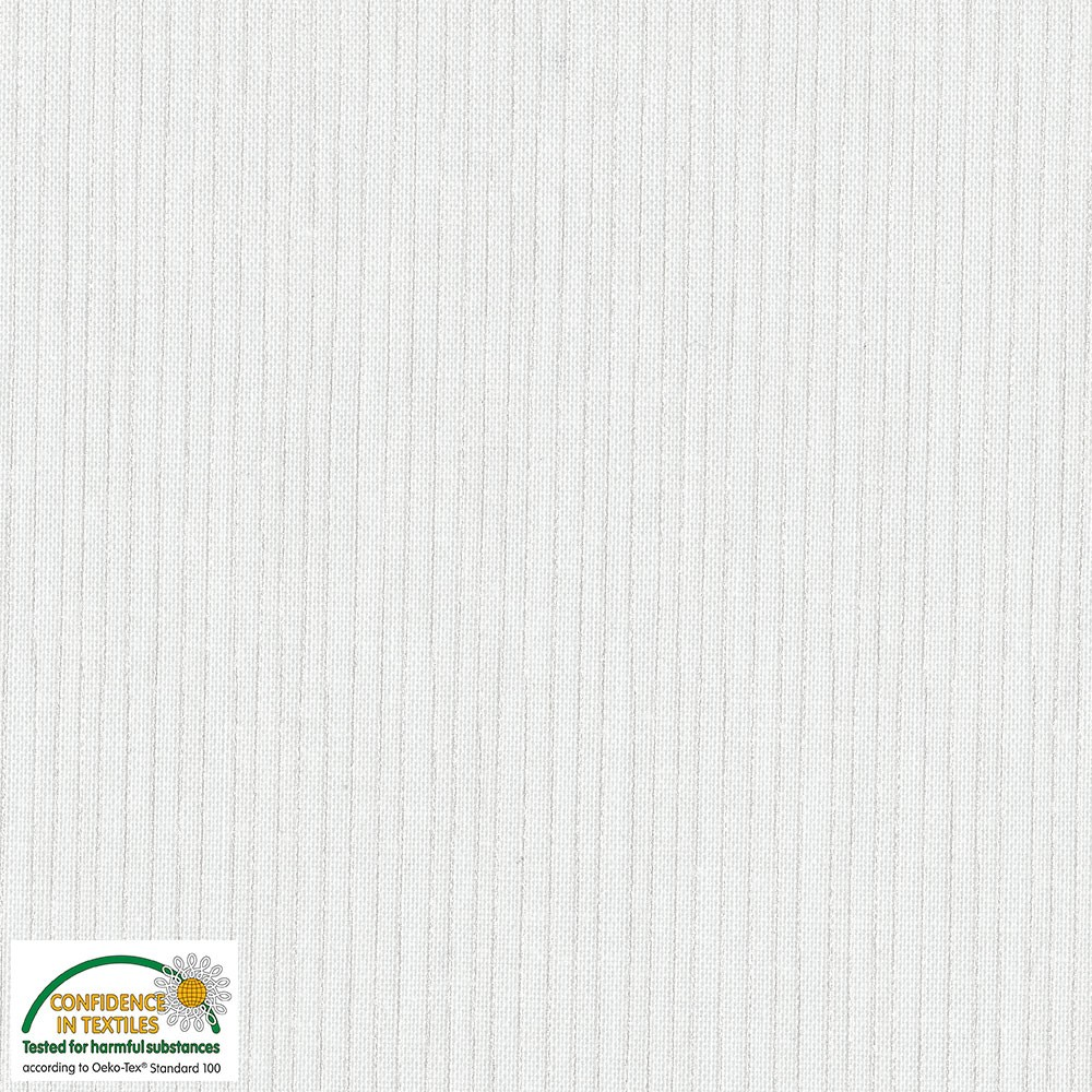 Quilters Pearl - Stripes - white